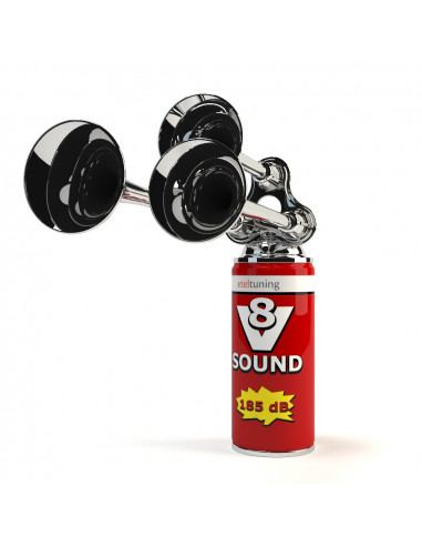 V8 Sound in a Can
